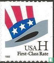 H -Briefmarke zu erhöhen