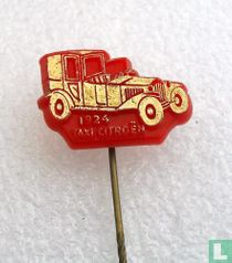 Taxi Citroën 1924 [goud op rood]