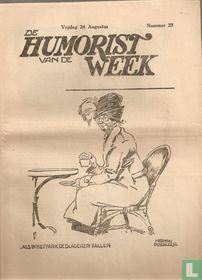 De humorist van de week [BEL] 23