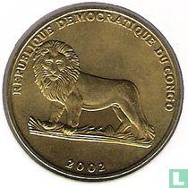 """Congo-Kinshasa 1 franc 2002 """"Chicken"""""""