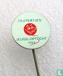 """""""Teutertjes"""" jeugd-optocht 1965"""
