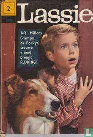 Lassie brengt redding