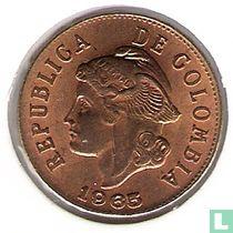 Colombia 2 centavos 1965