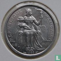 Frans-Polynesië 2 francs 1983
