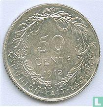 België 50 centimes 1912 (FRA)
