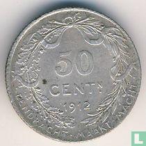 België 50 centimes 1912 (NLD)