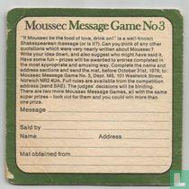 Message Game No. 3