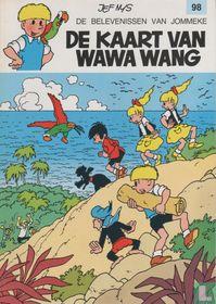 De kaart van Wawa Wang