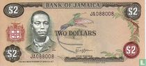 Jamaica 2 Dollars ND (1982)