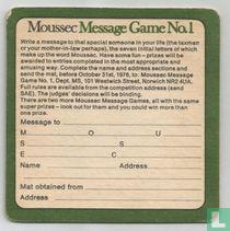 Message Game No.1