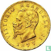 Italië 20 lire 1877