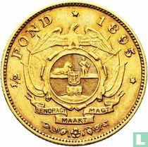 Afrique du Sud ½ pond 1895