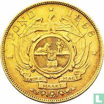 Afrique du Sud 1 pond 1896