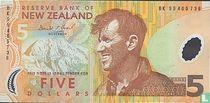 Nieuw-Zeeland 5 Dollars
