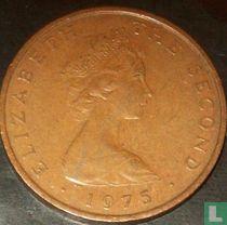 Man 2 new pence 1975 (brons)