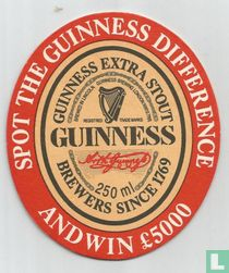 Spot the Guinness difference and win £5000
