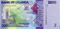 Oeganda 2.000 Shillings 2010
