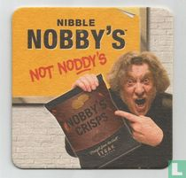 Nibble Nobby's not noddy's / Text Nobby's not noddy's to win