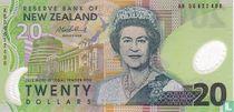 Nieuw-Zeeland 20 Dollars
