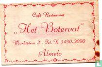 "Café Restaurant ""Het Botervat"""