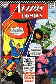 Clark Kent, Fighting Federal Agent!