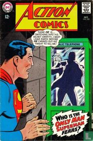 Who is the only man Superman fears?