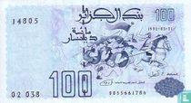 Algerije 100 Dinars 1992