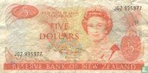 Nieuw Zeeland 5 Dollars