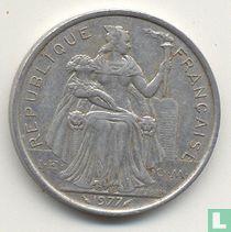 Frans-Polynesië 5 francs 1977