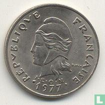 Frans-Polynesië 20 franc 1977