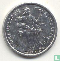 Frans-Polynesië 1 franc 1983