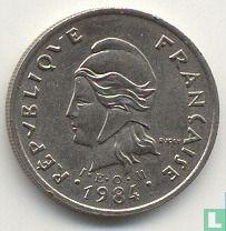 Frans-Polynesië 10 francs 1984