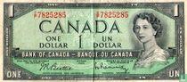 Canada 1 Dollar 1954