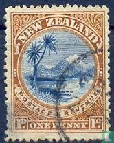 Taupomeer en berg Ruapehu