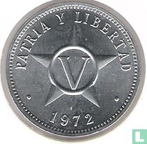 Cuba 5 centavos 1972