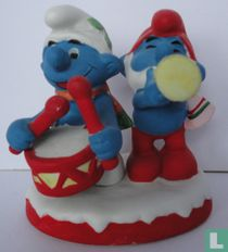 Trommelsmurf & Grote Smurf