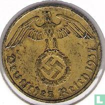 Duitse Rijk 10 reichspfennig 1937 (F)