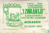 Cafe Bar Lunchroom automatiek 't Zwaantje