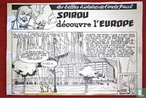Spirou discovers Europe