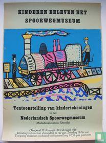 Kinderen beleven het spoorwegmuseum