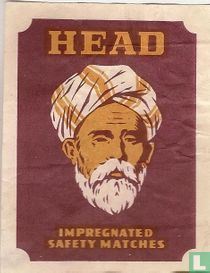 Head impregnated safety matches