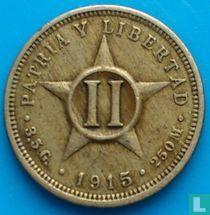 Cuba 2 centavos 1915