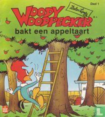 Woody Woodpecker bakt een appeltaart