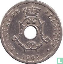 België 5 centimes 1903 (FRA)