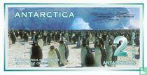 Antarctica 2 Dollars 1996