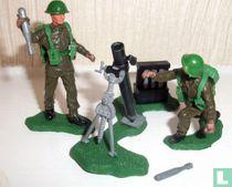 British mortar team