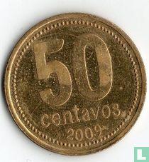 Argentina 50 centavos 2009