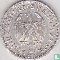 Duitse Rijk 5 reichsmark 1935 (E)