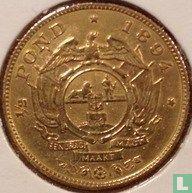 Zuid-Afrika ½ pond 1894