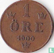Zweden 1 öre 1900
